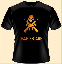 Майка (футболка) Iron Maiden.